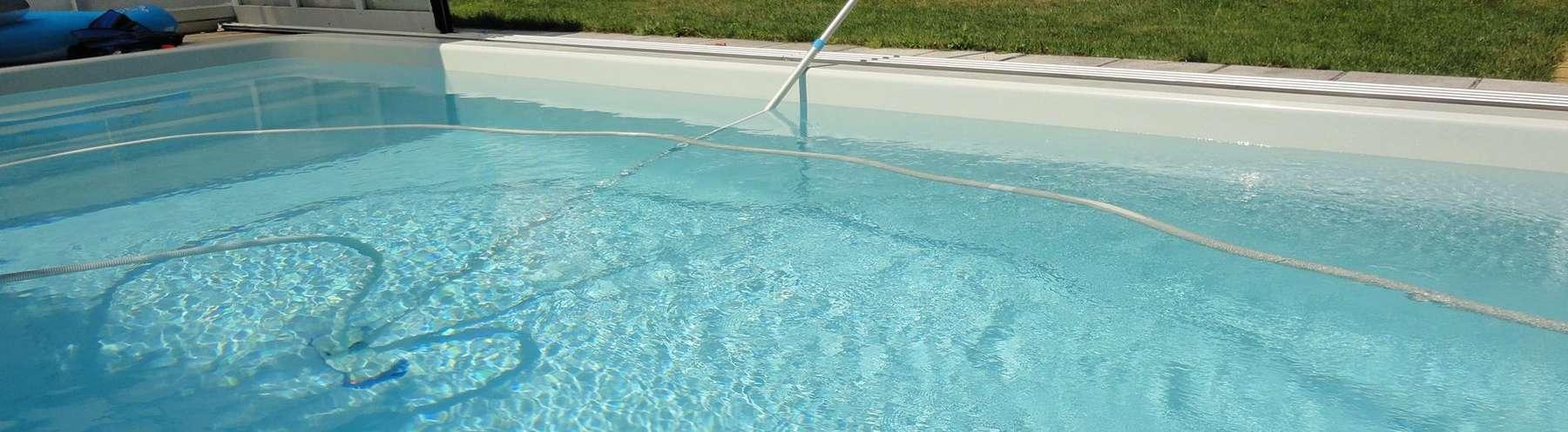 Milchig pool brunnenwasser Grünes Poolwasser