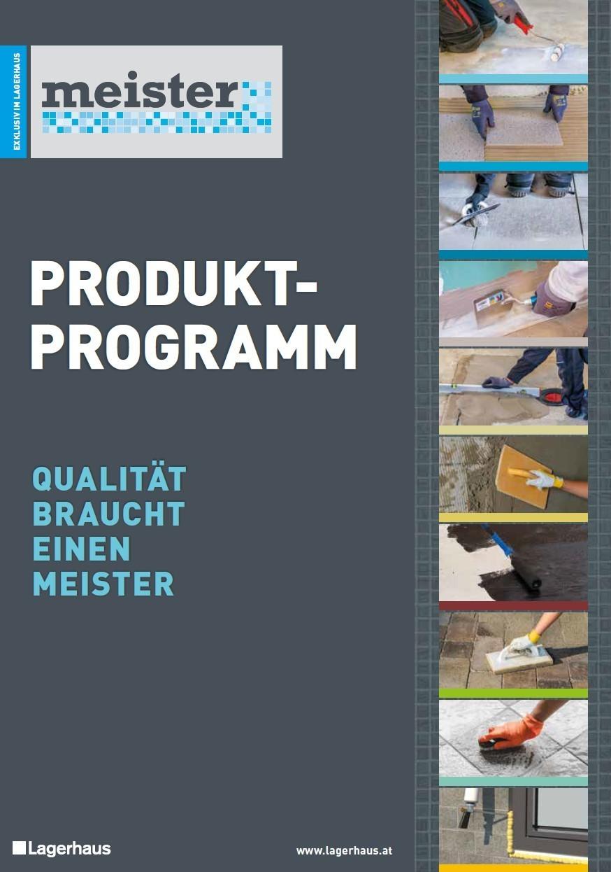 Meister Katalog 2020 | Lagerhaus Wechselgau