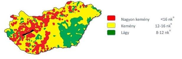 vízkeménység térkép magyarország A PH és a vízkeménység hatása a növényvédőszerekre. | rwa.hu   Hírek vízkeménység térkép magyarország