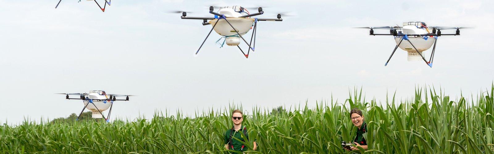 Bild_Lagerhaus Drohnen u?berfliegen 5.000 ha © RWA/Robert Gebauer